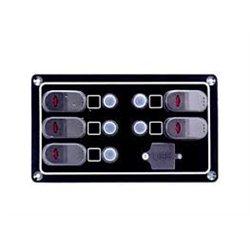ΠΙΝΑΚΑΣ  ΜΕ ΑΥΤΟΜΑΤΕΣ ΑΣΦΑΛΕΙΕΣ  5Θ ΜΕ USB H 190 χ W140mm